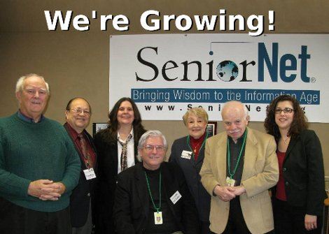 SeniorNet is growing